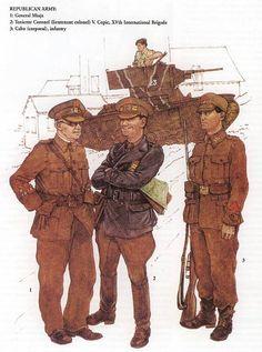 spanish republican army uniform - Google Search