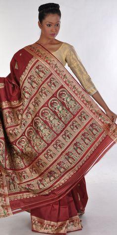 Call of the traditional, Baluchari