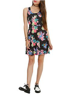 Dress from Disney's <I>Lilo and Stitch</I> with an allover floral sublimation print design.