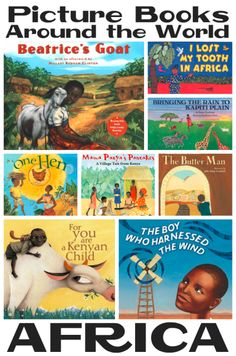 Picture Books about Africa from Youth Literature Reviews.