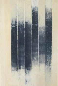 lifeonsundays:  glovaskicom: Revealed #9, oil and wax on paper, Doug Glovaski 2009