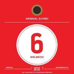 GOAL! ARENAL! WELBECK!  What. A. Start #Arsenal #afc #coyg #gunners #gooners #welbeck