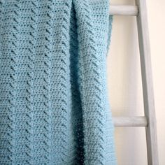 Lakeshore Ripples Baby Blanket Crochet Pattern – HiddenMeadowCrochet