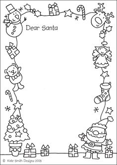 Santa Letters: 10 Free Printable Letters to Santa!