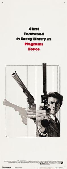 """""""Magnum Force"""" (1973). DIRECTOR: Ted Post. SCREENWRITER: John Milius & Michael Cimino (Story: John Milius)."""