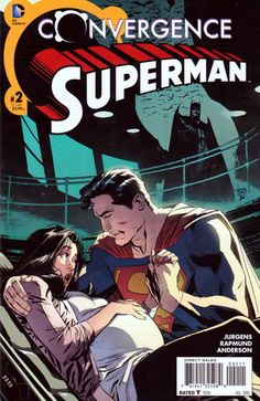 Convergence Superman #2 Regular Lee Weeks Cover (2015) DC Comics Dan Jurgens Story. A powerless Superman is called upon to protect Gotham City... and his pregnant wife Lois Lane!