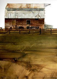 FASO Featured Artists: Artist Joseph Alleman | FineArtViews Blog by FASO Picture: Side Veiw - Watercolor