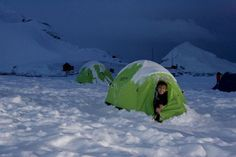 Polar camping: On select departures in the Arctic you can add sea-kayaking or camping to your adventure. In the Antarctic, there are four adventure options offered. In addition to sea-kayaking and camping, you could climb mountains or cross-country ski.
