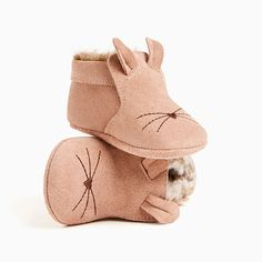 MINI LEATHER BOOTIES WITH MOUSE DETAIL-SHOES-MINI | 0-12 months-KIDS | ZARA United States