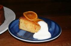 This is a recipe for a really yummy Gluten Free cake, made with citrus. So good I nearly ate the whole cake myself!
