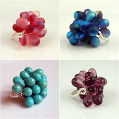 Fun rings. Cute blog.
