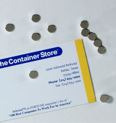 The Container Store > Mini Magnetic Strip