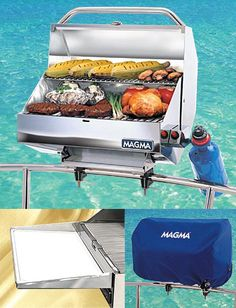 Grill for the Boat// http://www.magmaproducts.com  this is purely informational, not a going away gift idea or anything like that...