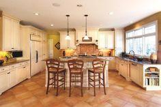 Cubbage Kitchen 1 traditional kitchen - also floor tiles