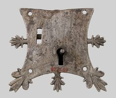 Mortise lock Date: 14th century Culture: French Medium: Iron