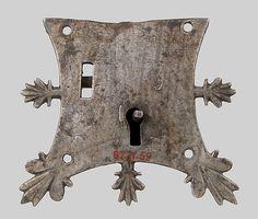 Mortise lock Date: 14th century Culture: French Medium: Iron