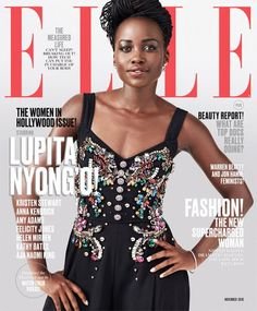 Lupita Nyong'o & Aja Naomi King Heat Up ELLE's