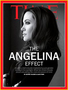 Angelina Jolie looks as beautiful as ever in a portrait on the cover of Time magazine's latest issue, which was released shortly after she revealed news of her preventative double mastectomy.