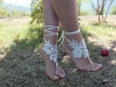 sandales aux pieds nus - boutique de mariage : Chaussures par weddingstore