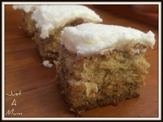 """The """"You Just Have to Make It"""" Banana Cake! - Just a Mum bread cake healthy muffins pudding recipes chocolat plantain recette recette Baking Recipes, Cake Recipes, Dessert Recipes, Picnic Recipes, Dessert Ideas, Easy Pineapple Cake, Delicious Desserts, Yummy Food, Coconut Muffins"""