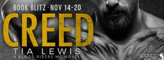 ♥Enter the #giveaway for a chance to win a $25 GC♥ StarAngels' Reviews: Book Blitz ♥ Creed by Tia Lewis ♥ #giveaway $25 GC...