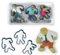 Undead Fred Zombie Cookie Cutters Moulds People Horror Novelty Cooking Baking on eBay!