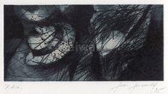 Luis Seiwald - Hut - Radierung - 1995