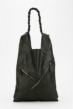 Deena & Ozzy Defined Lines Leather Tote Bag #urbanoutfitters