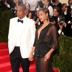 Beyonce and Jay Z at the Met Gala 2014