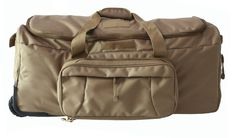 Military Tactical Wheeled Deployment Trolley Duffel Bag Heavy-Duty Camping Hiking Running Trekking * You can get more details by clicking on the image. (This is an Amazon Affiliate link and I receive a commission for the sales)