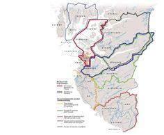 Det nye kommunekartet over Rogaland ligger an til å få 23 kommuner, bare tre færre enn i dag.