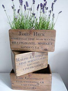 wooden box flowers - Поиск в Google