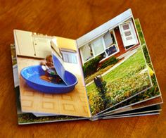 Make a Custom Lift-the-Flap Book for a Toddler on instructables.  gift for baby