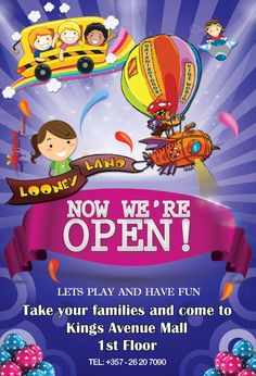 Looney Land oppening at kings Avenue Mall