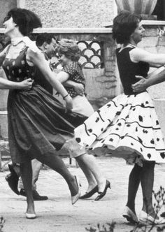 Rustic ball Paris, 1962 by Janine Niepce