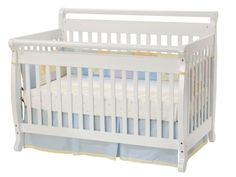 Davinci Emily 4-in-1 Convertible Crib - White