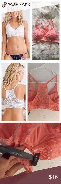 416227c631 Artie Floral Lace Push Up Bralette Size  small
