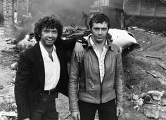 Tough enough for Peaky Blinders? Martin Shaw (Doyle) and Lewis Collins (Bodie) in The Professionals in 1978