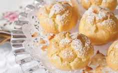 These Coconut Cream Puffs are a decadent treat.