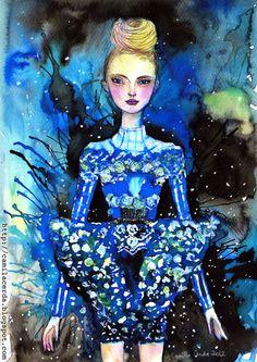 Camila Cerda Illustration: Mary Katrantzou