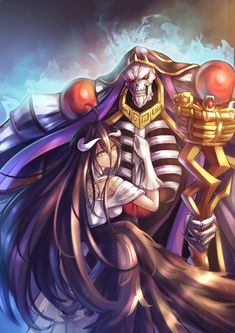 Momonga / Albedo【Overlord】