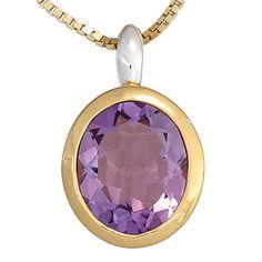 Damen-Anhänger teilvergoldet Silber 1 Amethyst Dreambase http://www.amazon.de/dp/B00N5BKZ2Y/?m=A105NTY4TSU5OS