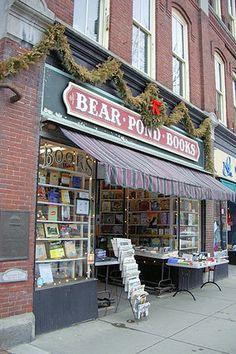 Montpelier, VT  Bear Pond Books-fabulous bookstore!