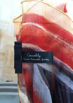 Coccolily Scarf, women's scarf. Print.