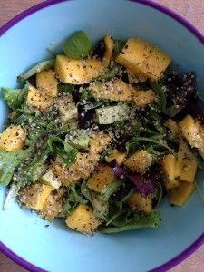 mango salade - paleo
