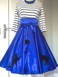 SHE IS ME - Skirt with a cats and ball