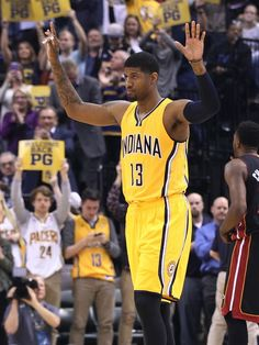 Paul George feels the love in return to Pacers