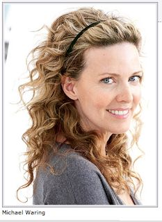 Wavy Perm Hairstyles Celebrity Haircut Hair Styles Ideas Design Pixel (makeup hairband head bands), Click image to See More. Curled Prom Hair, Long Curly Hair, Curly Hair Styles, Permed Hairstyles, Pretty Hairstyles, Hairstyle Ideas, Medium Hairstyles, Headband Hairstyles, Long Curly Layers