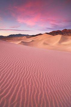 Desert Dream - Ibex Sand Dunes, Death Valley National Park | by Joshua Cripps