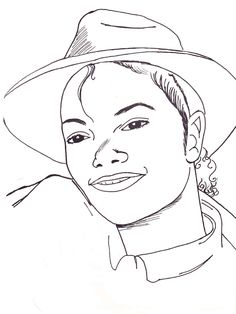 page 4 michael jacksoncoloring book